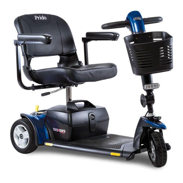 Scooter Rental - GO-GO 3 Wheel