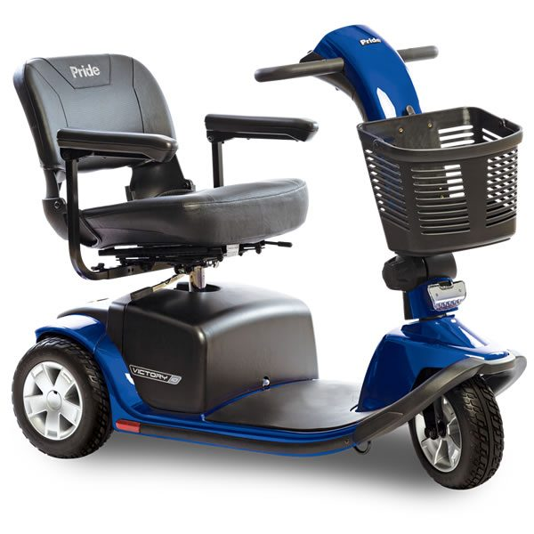 3 Wheel Scooter Rental - Victory 10